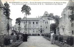 Ecole normale d'institutrices - 1913