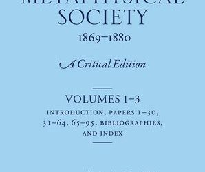 The Papers of the Metaphysical Society, 1869-1880: Catherine Marshall – Oxford University Press